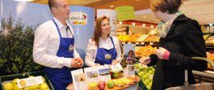 Südtiroler Äpfel auf Deutschlandtournee