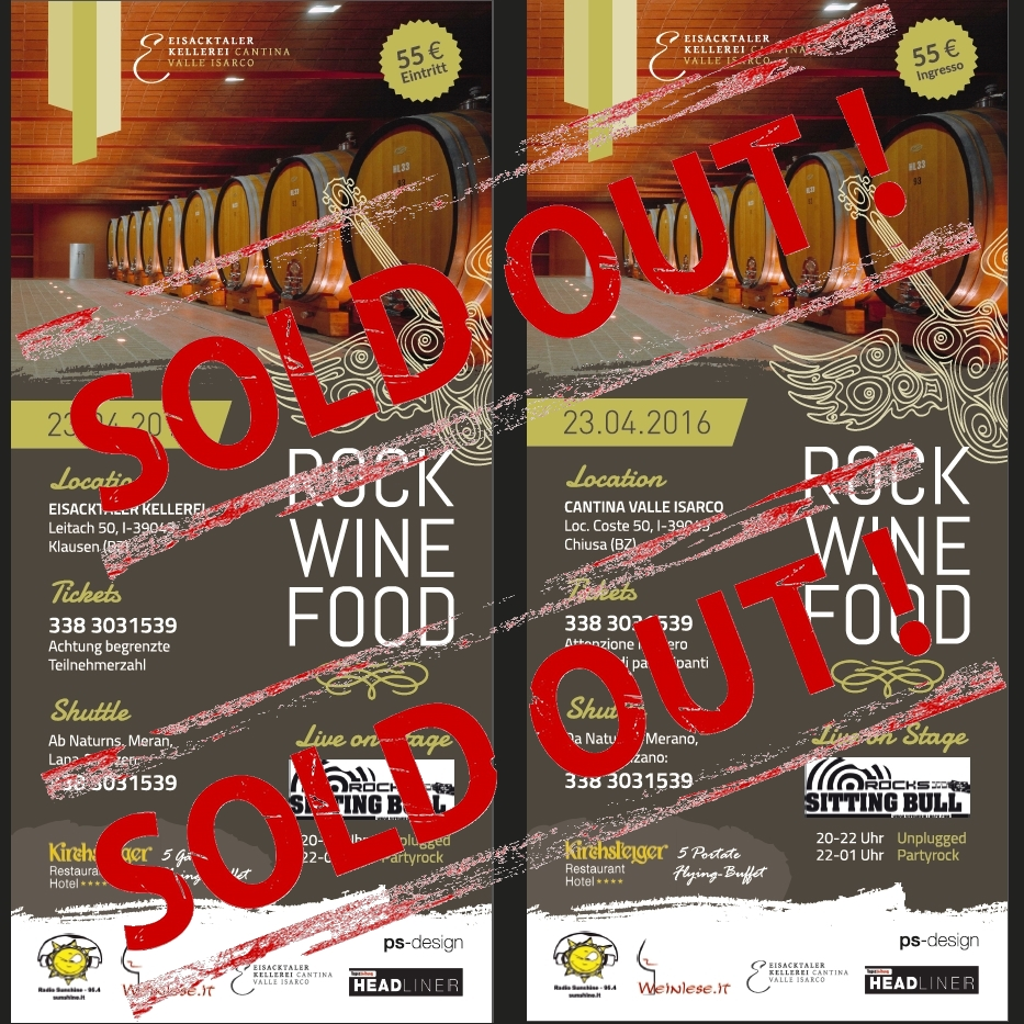 Rock wine food 10soldout
