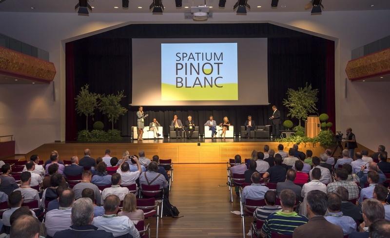 """Einige Eindrücke von der zweiten Ausgabe von """"Spatium Pinot Blanc"""" in Eppan"""