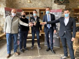 """Vinea Tirolensis mit einem Corona-kompatiblen Konzept im Rahmen der Messe """"Hotel"""" in Bozen"""