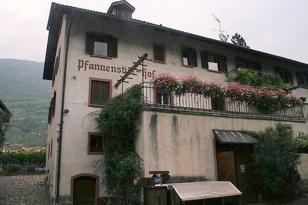 Erinnerungen: Der Pfannenstielhof in Bozen