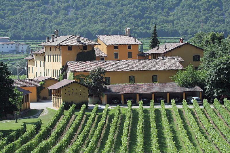 Tenuta San Leonardo im Lagarina-Tal im Trentino